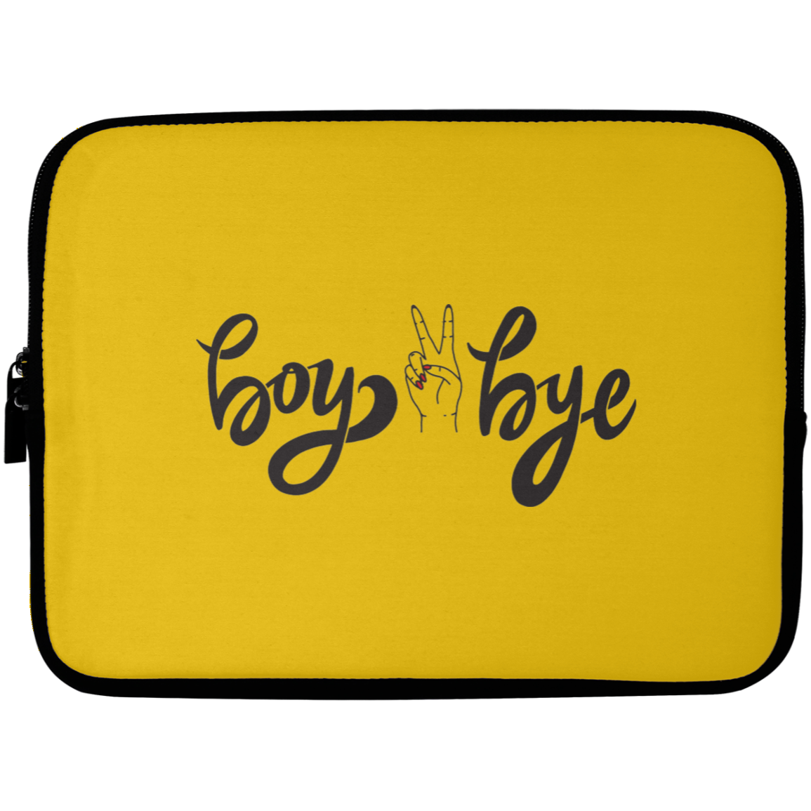 Boy Bye Laptop Sleeve - 10 inch