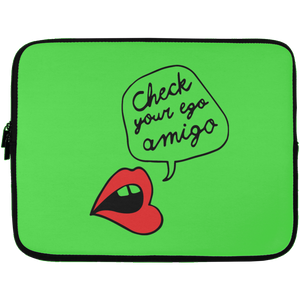 Check Your Ego Amigo Laptop Sleeve - 13 inch