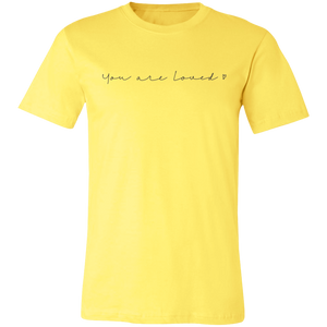 You Are Loved Unisex Jersey Short-Sleeve T-Shirt
