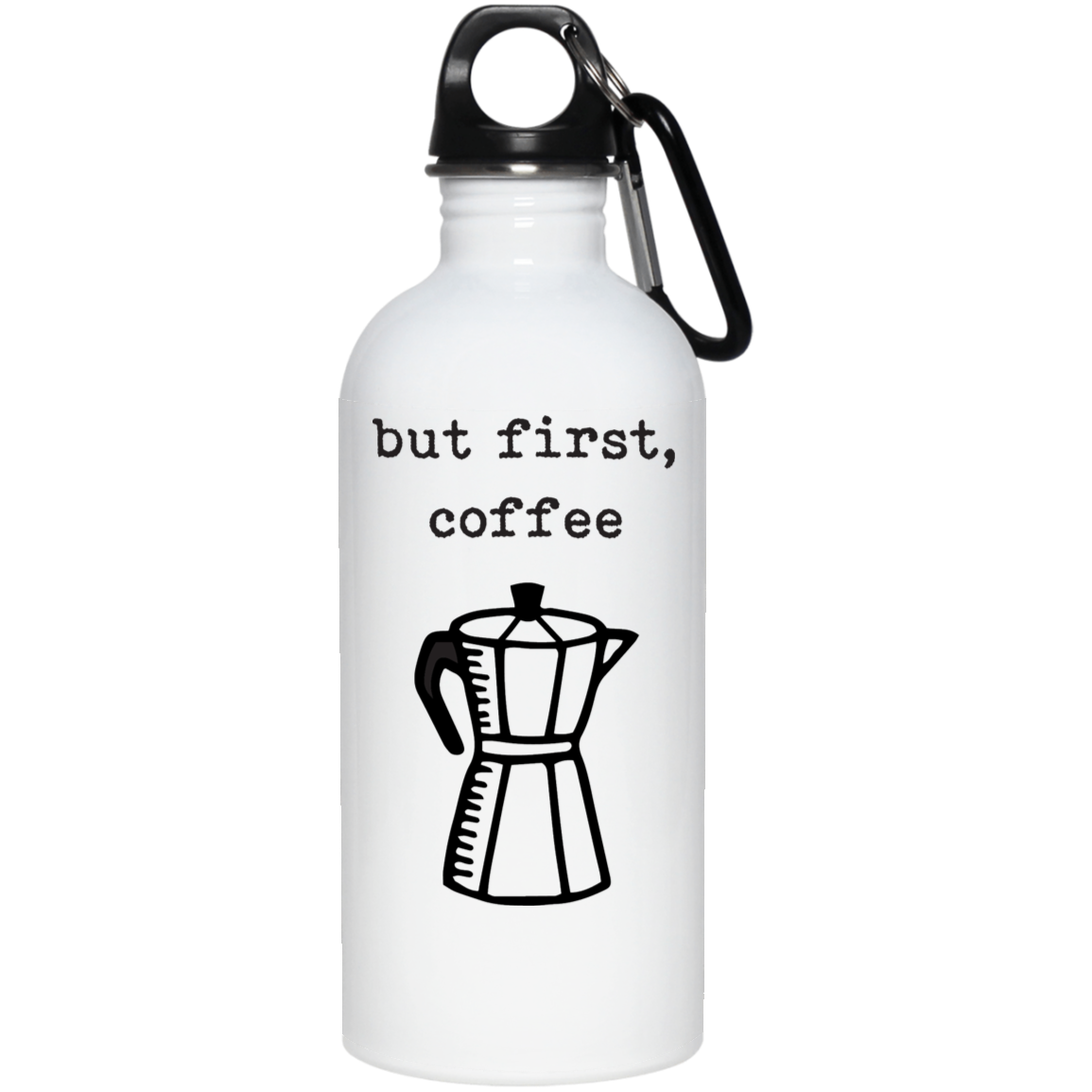 But First, Coffee Stainless Steel Water Bottle