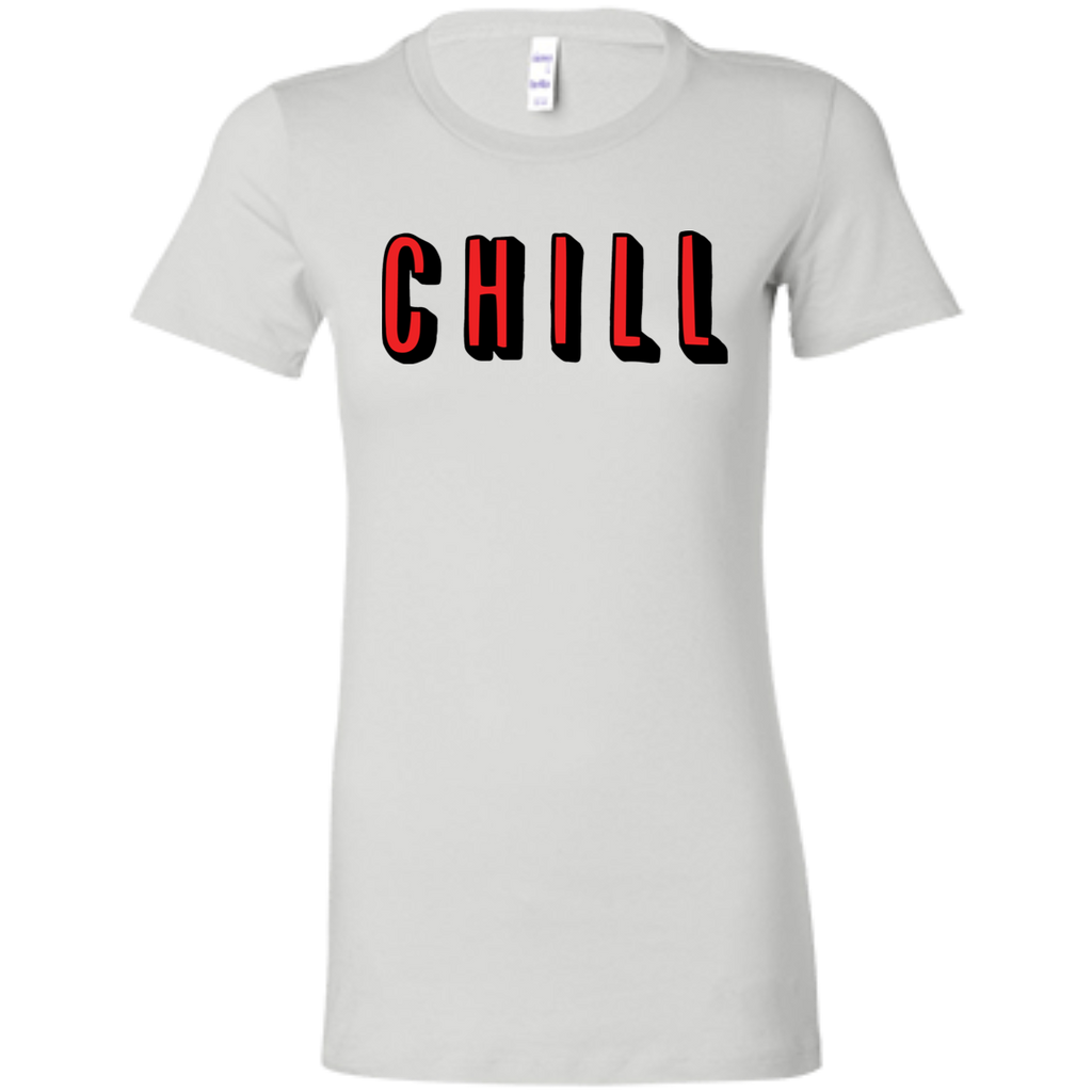 CHILL Slim Fit Women's T-Shirt