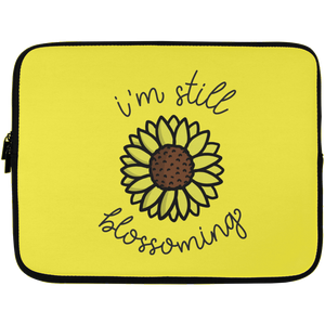 I'm Still Blossoming Laptop Sleeve - 13 inch
