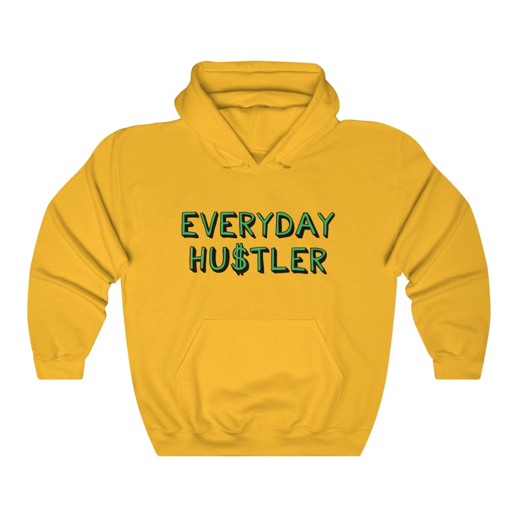 Everyday Hustler Hooded Sweatshirt by EMEJOTA