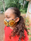 Black Harvest Reusable Cotton Face Mask