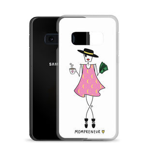 Unstoppable Mompreneur for Samsung - Clear Case