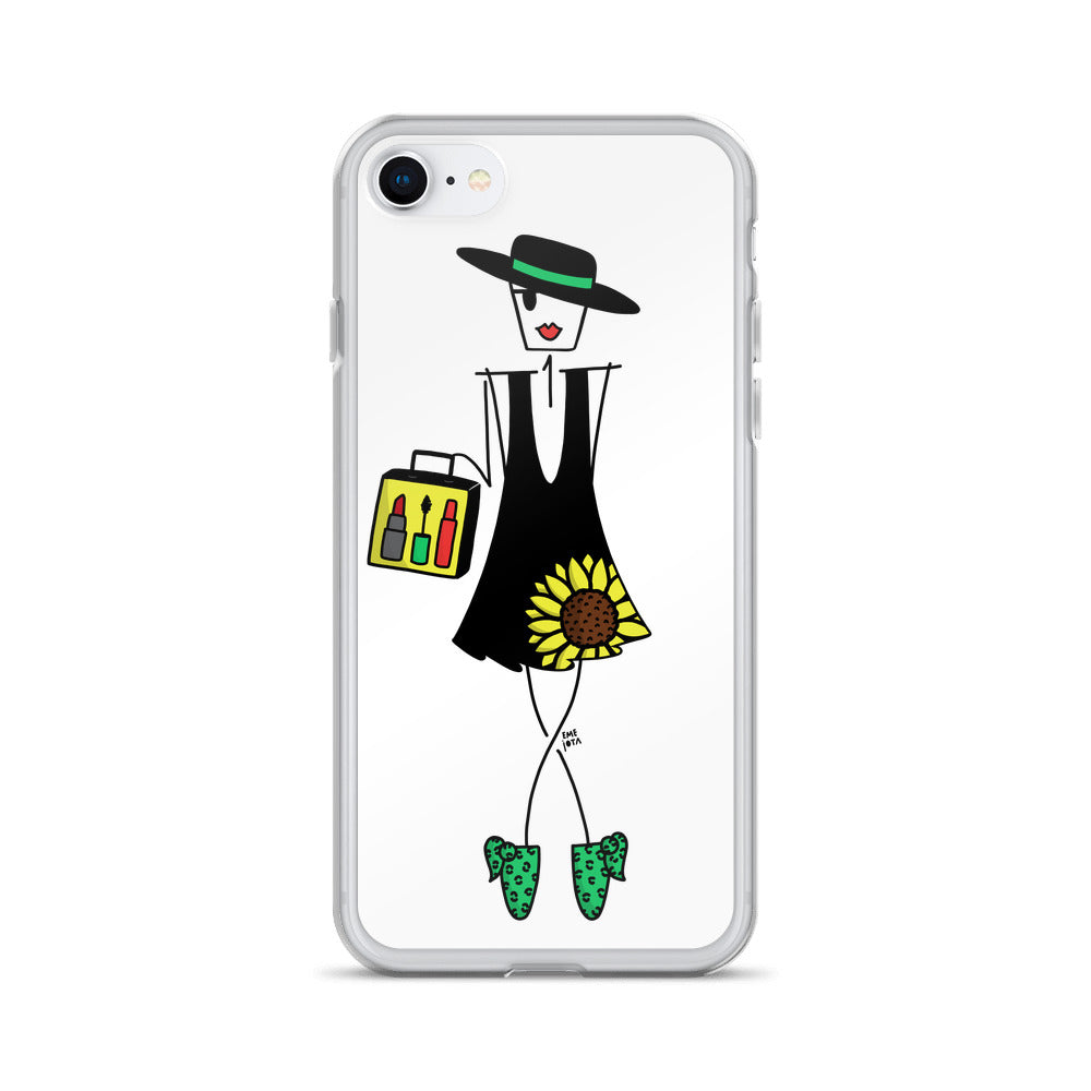 The Makeup Artist for iPhone - Clear Case