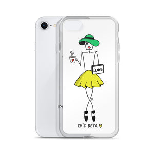 Chic Beta for iPhone - Clear Case