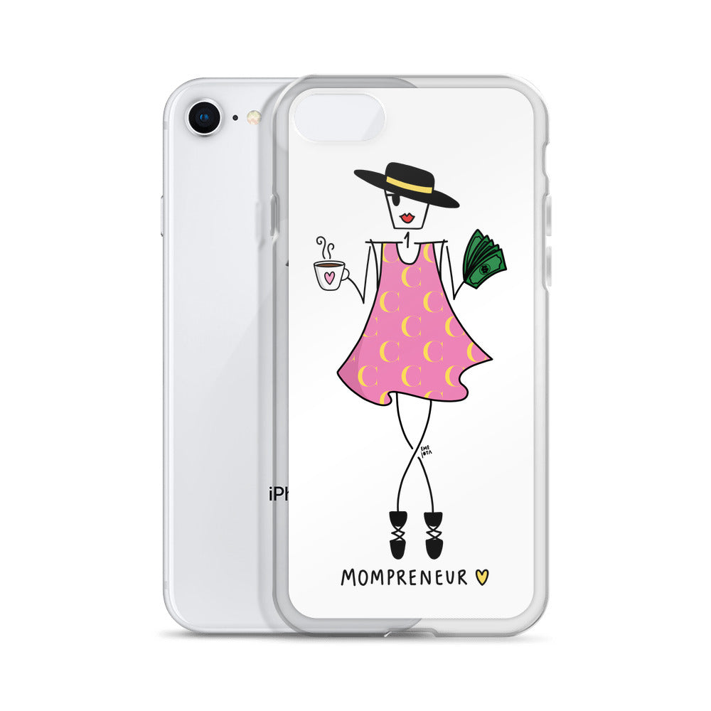 Unstoppable Mompreneur for iPhone - Clear Case