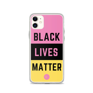 Black Lives Matter iPhone Case - Clear