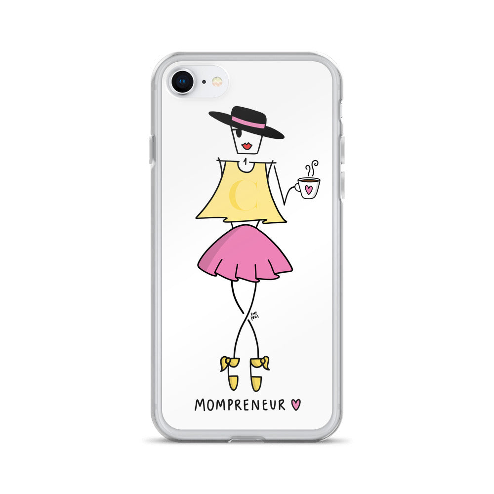 Mompreneur EME for iPhone - Clear Case