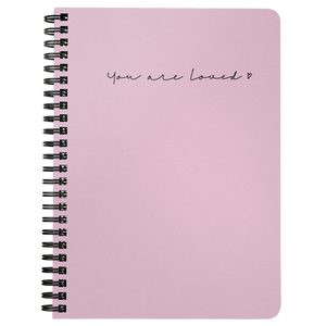 You Are Loved Spiralbound Notebook