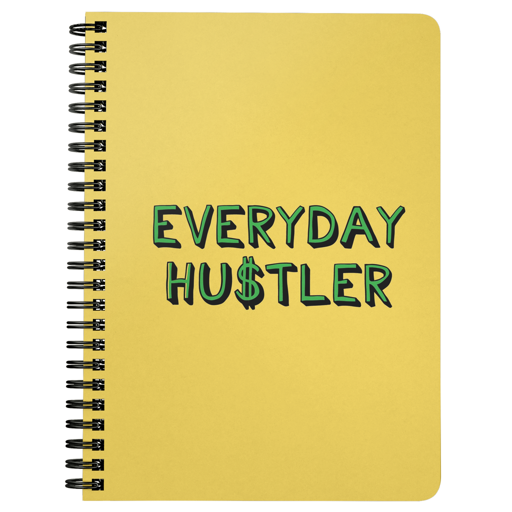 Everyday Hustler Spiralbound Notebook