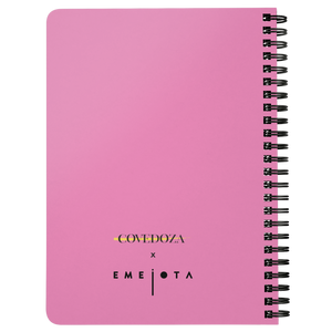 {Limited Edition} Everyday Hustler Pink Spiralbound Notebook