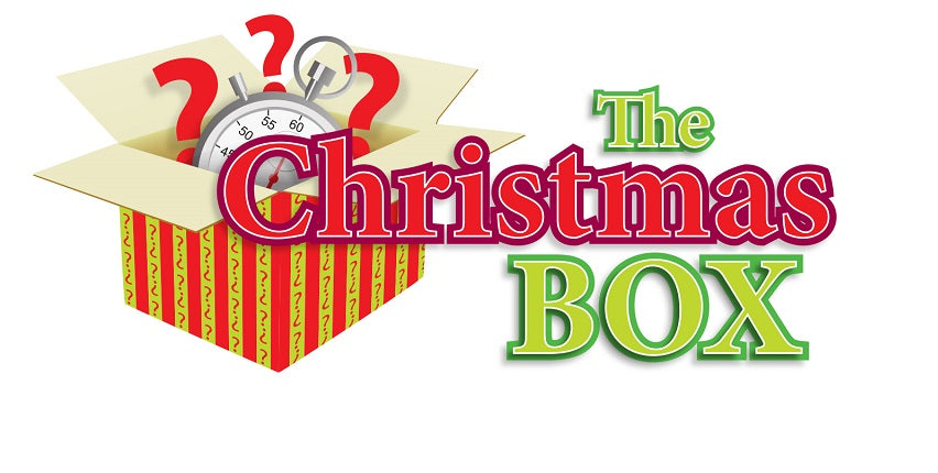 Diy events kits manage your own events birthday and party ideas in put on your on christmas function or event with the christmas box game show event for solutioingenieria Choice Image