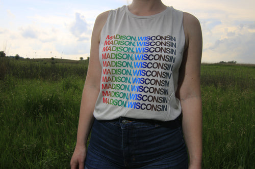 Women's Madison Wisconsin Tank Top