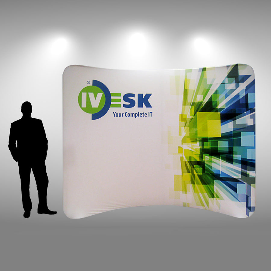 Replacement Graphic for 10 Ft EZ-Zip Display - Do Tradeshow - Custom Trade Show Displays and Booths in Minnesota