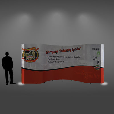 20 Ft Combo Pop Up Display - Do Tradeshow - Custom Trade Show Displays and Booths in Minnesota