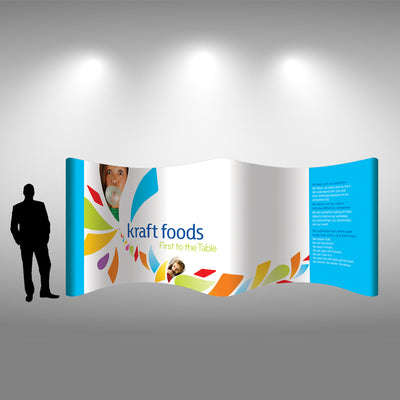 20 Ft Gullwing Pop Up Display - Do Tradeshow - Custom Trade Show Displays and Booths in Minnesota
