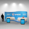 20 Ft Serpentine Pop Up Display - Do Tradeshow - Custom Trade Show Displays and Booths in Minnesota