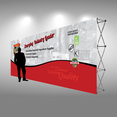EZ-Up Display - 20 Ft - Do Tradeshow - Custom Trade Show Displays and Booths in Minnesota