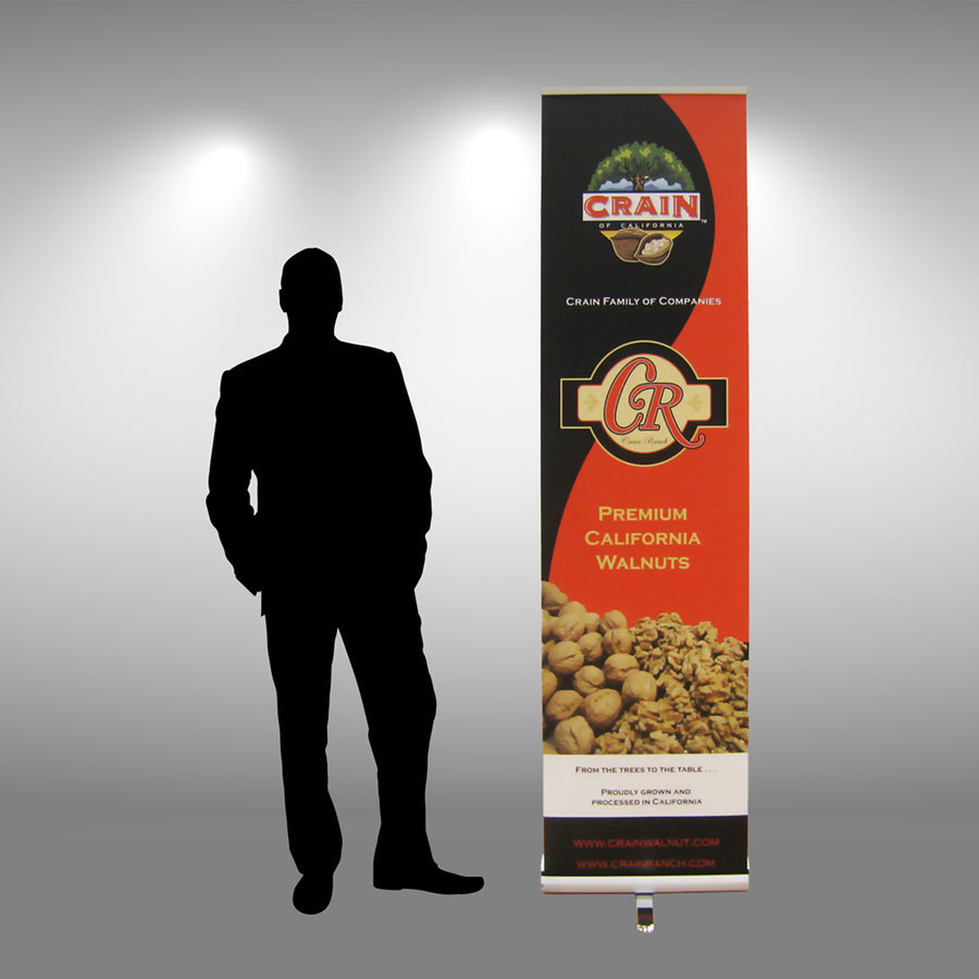 "24"" Retractable Banner Stand - Do Tradeshow - Custom Trade Show Displays and Booths in Minnesota"