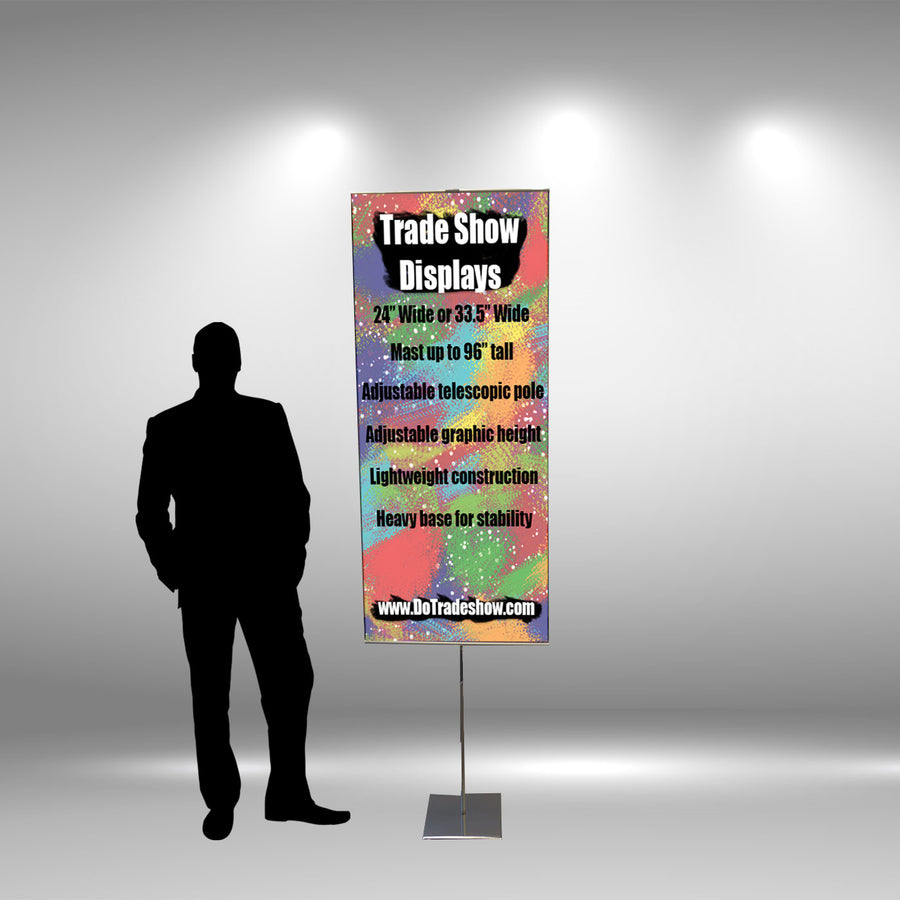 "24"" Adjustable Banner Stand"
