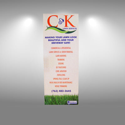 Replacement Graphic for Retractable Banner Stands - Do Tradeshow - Custom Trade Show Displays and Booths in Minnesota