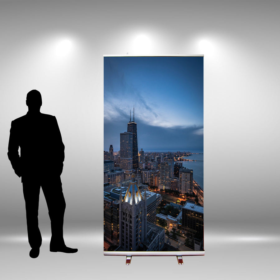 "48"" Retractable Banner Stand"