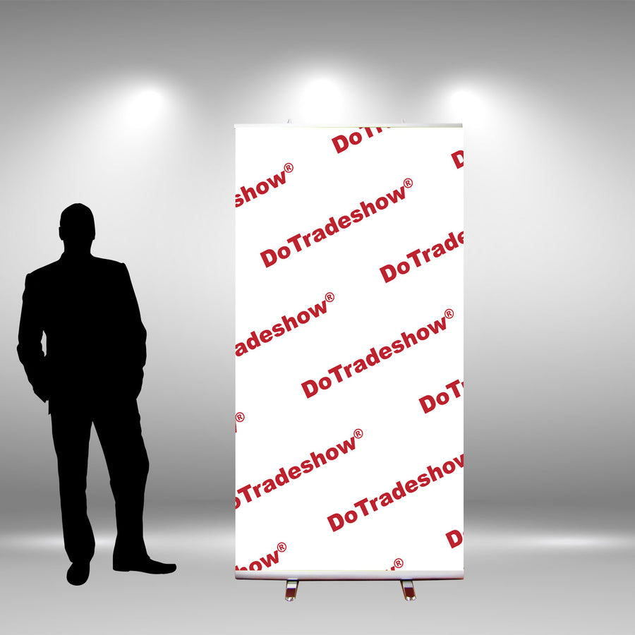 "48"" Retractable Banner Stand - Do Tradeshow - Custom Trade Show Displays and Booths in Minnesota"