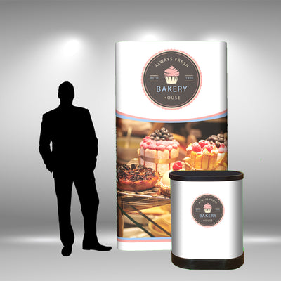 4 Ft Pop Up Tower - Do Tradeshow - Custom Trade Show Displays and Booths in Minnesota