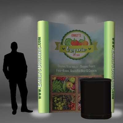 6 Ft Pop Up Display - Do Tradeshow - Custom Trade Show Displays and Booths in Minnesota