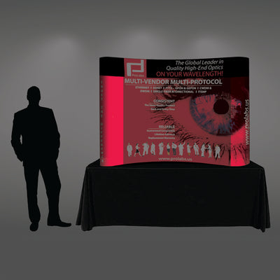 6 Ft Tabletop Pop Up Display - Do Tradeshow - Custom Trade Show Displays and Booths in Minnesota
