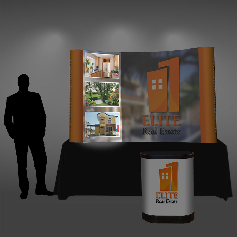 8 Ft Tabletop Pop Up Display - Do Tradeshow - Custom Trade Show Displays and Booths in Minnesota
