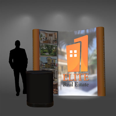 8 Ft Pop Up Display - Do Tradeshow - Custom Trade Show Displays and Booths in Minnesota