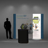 9 Ft Pop Up Display - Do Tradeshow - Custom Trade Show Displays and Booths in Minnesota