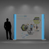 Back-lit Graphic Panel for Pop Up Displays - Do Tradeshow - Custom Trade Show Displays and Booths in Minnesota