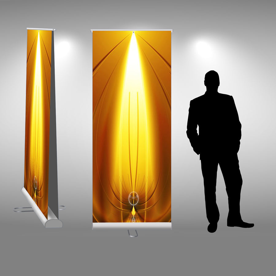 Double-Sided Retractable Banner Stand - Do Tradeshow - Custom Trade Show Displays and Booths in Minnesota