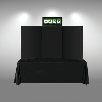 Graphic Header for Hook-and-Loop Folding Panel Display - Do Tradeshow - Custom Trade Show Displays and Booths in Minnesota