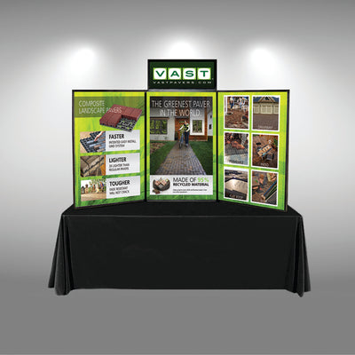 Graphic Package for Hook-and-Loop Folding Panel Display - Do Tradeshow - Custom Trade Show Displays and Booths in Minnesota