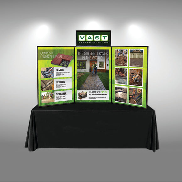 Trade Show Booth Graphic Design : Trade show displays pop up booths banner stands portable displays