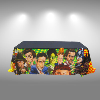 Printed Table Throw - Do Tradeshow - Custom Trade Show Displays and Booths in Minnesota