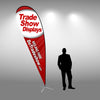 Tall Tear Drop Flag - Do Tradeshow - Custom Trade Show Displays and Booths in Minnesota