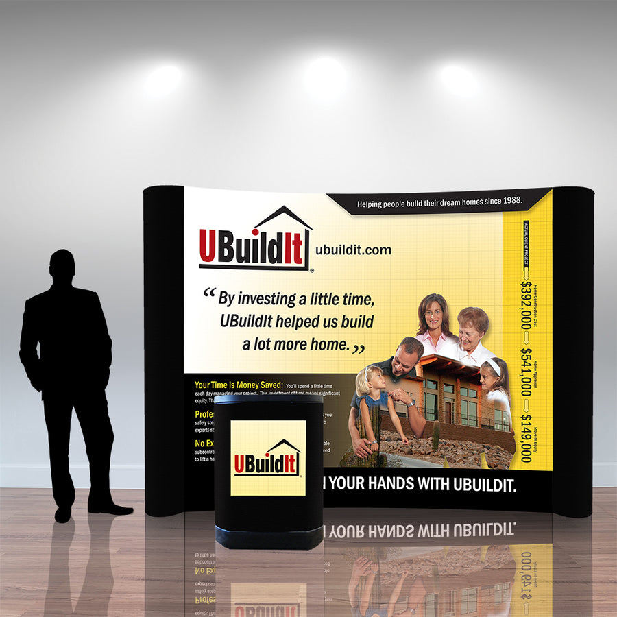 UBuildIt 10 Ft Pop Up Display - Do Tradeshow - Custom Trade Show Displays and Booths in Minnesota