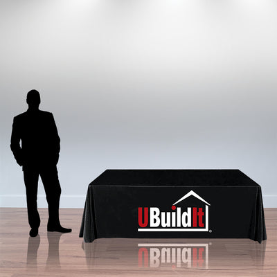 UBuildIt Printed Table Throw - Do Tradeshow - Custom Trade Show Displays and Booths in Minnesota