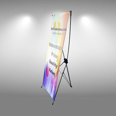X-Framed Banner Stand - Do Tradeshow - Custom Trade Show Displays and Booths in Minnesota