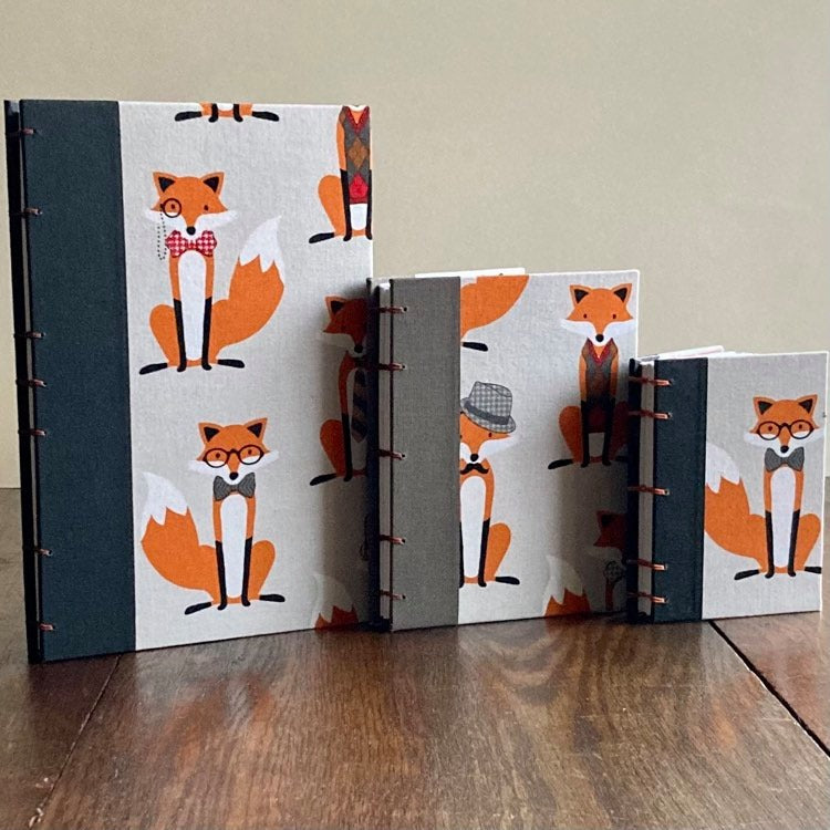 Dapper Foxes - Pocket sized