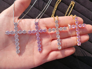 Bling Cross Necklace