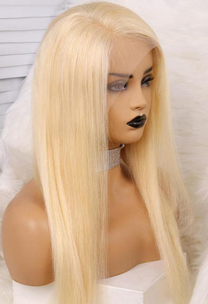 LACE FRONTAL WIGS BLONDE 613 STRAIGHT
