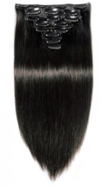 CLIP IN 70 GRAM DARK BROWN