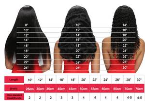 4x4 GLUELESS CLOSURE WIGS